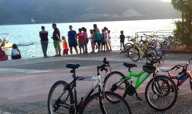 Ήγουμενίτσα: Απολαυστική και με μεγάλη συμμετοχή η 5η ποδηλατάδα παιδιών στην Ηγουμενίτσα