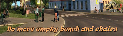 No more empty bench and chairs v1.0