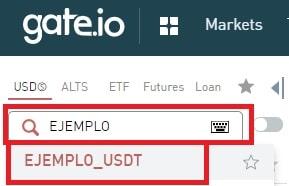 Comprar CS/USDT Y CREDITS GATE.io
