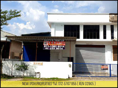 IPOH SILIBIN 1-1/2 STOREY SEMI-D FACTORY FOR RENT  (I00258) - RM 3,500/MTH ( NEG )  - RENT OUT