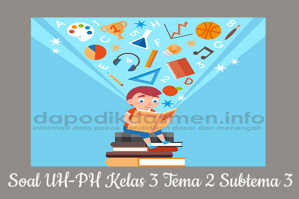 Soal UH PH Kelas 3 Tema 2 Subtema 3 Kurikulum 2013
