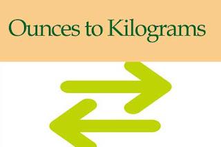Ounces to Kilograms