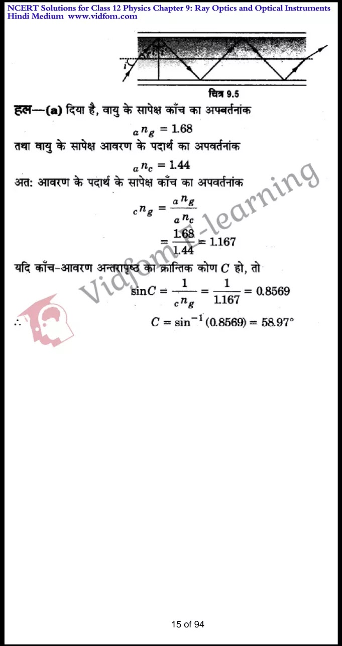 class 12 physics chapter 9 light hindi medium 15
