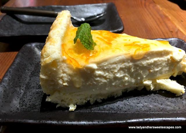 Atisuto Yuzu cheesecake