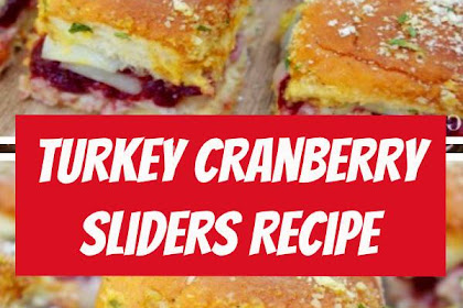 Turkey Cranberry Sliders Recipe #sliders #thanksgiving #thanksgivingrecipes #thanksgivingleftovers