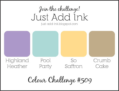 Jo's Stamping Spot - Just Add Ink Challenge #509