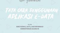 User Guidebook Tata Cara Penggunaan Aplikasi E-Data Kemenag