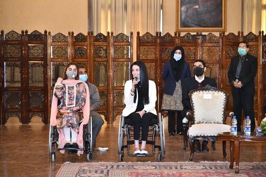 """The Iron lady of Pakistan"". Muniba Mazari quotes , muniba Mazari story, Muniba Mazari painting, Muniba Mazari speech , Muniba Mazari son, muniba Mazari motivational speaker"