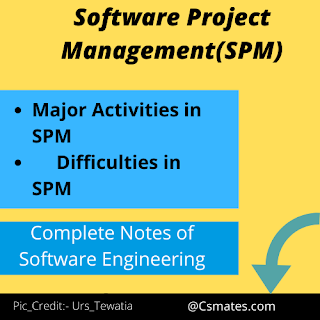 software engineering notes(SPM)