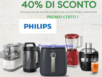 Logo Buon Cibo Knorr : sconto 40% per elettrodomestico Philips come premio certo