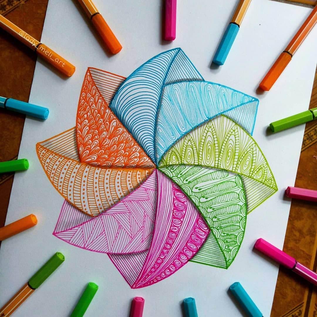 08-lady-meli-art-Colored-Pens-and-Geometric-Mandalas-Zentangles-Doodles-www-designstack-co