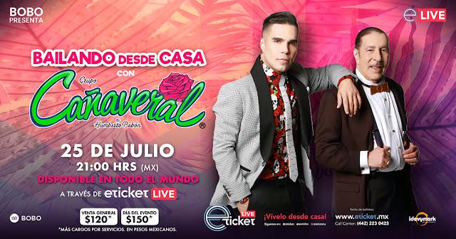 Grupo Cañaveral cambió la fecha de su presentación vía Streaming