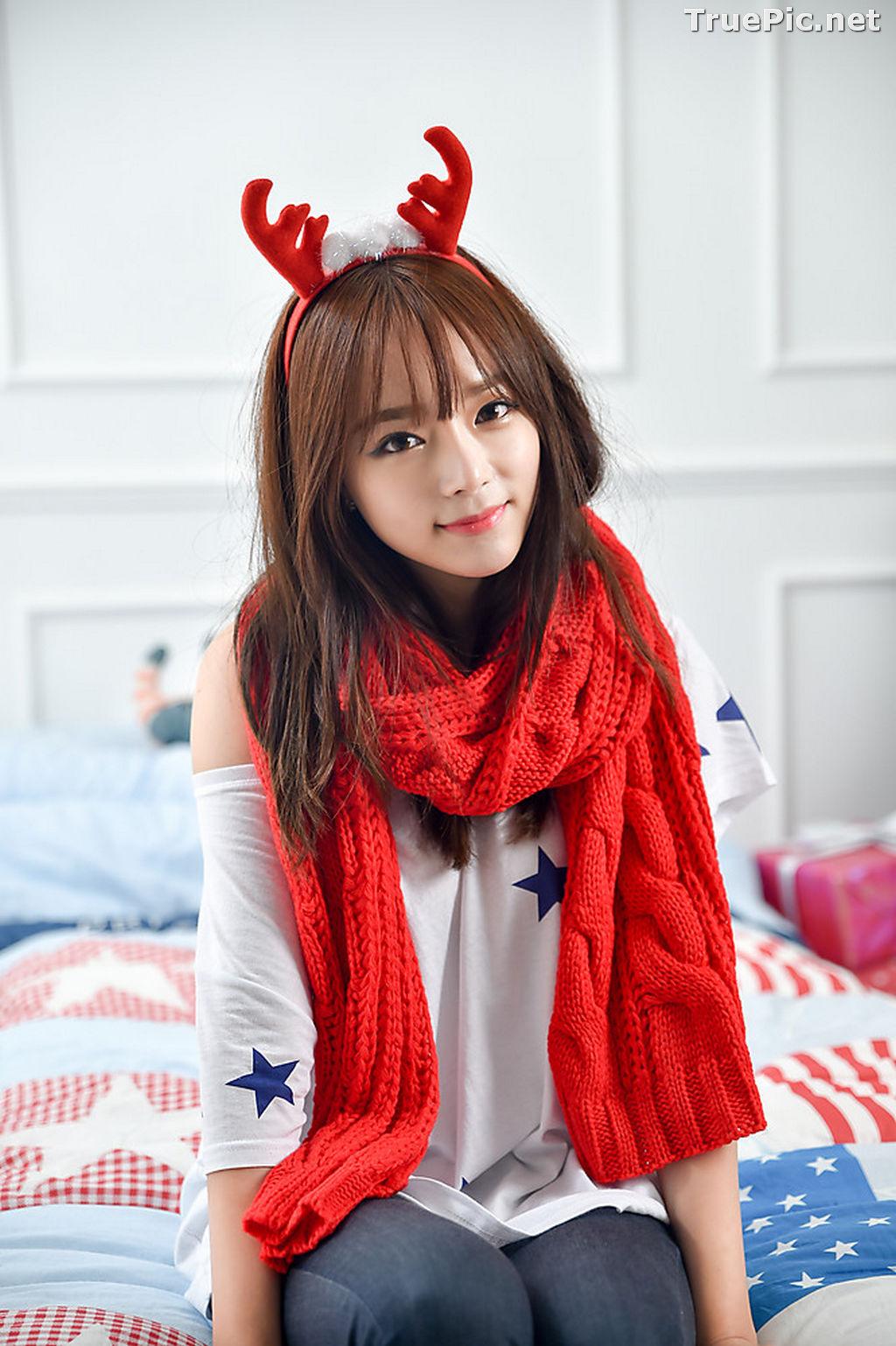 Image Korean Beautiful Model – Ji Yeon – My Cute Princess #2 - TruePic.net - Picture-1