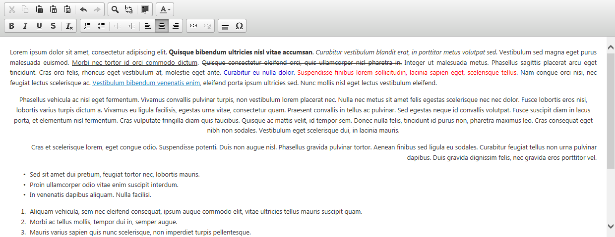 Back to the CRM: XrmRichTextEditor component released