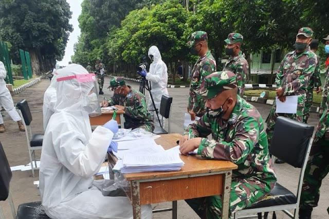 Siswa Secapa TNI AD Negatif COVID-19 Dilaporkan Bertambah 78 Orang