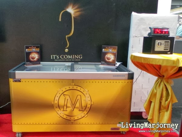 Magnum Gold at SM Aura Supermarket, by LivingMarjorney