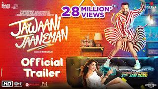 Jawaani Jaaneman – Official Trailer | Saif Ali Khan, Tabu, Alaya F ...
