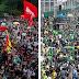 FOTOS: atos pró e contra Bolsonaro no 7 de Setembro de 2021. Confira!