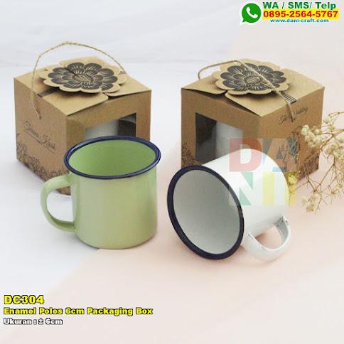 Enamel Polos 6cm Packaging Box