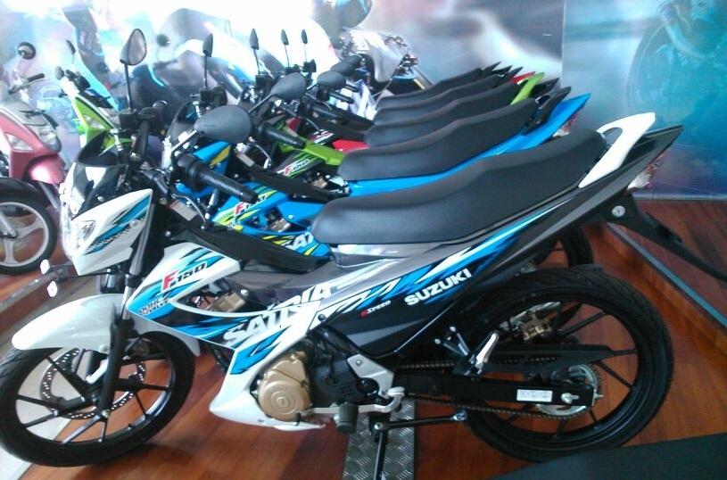 Spesifikasi Harga Motor New Satria FU 2014