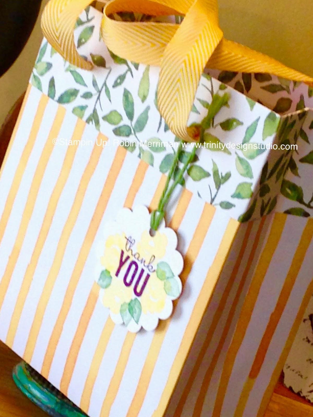 Trinity Designs Pretty Paper Gift Bag Paperweek