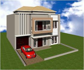 Gambar Rumah: Gambar Rumah Minimalis Perpaduan Cream dan ...