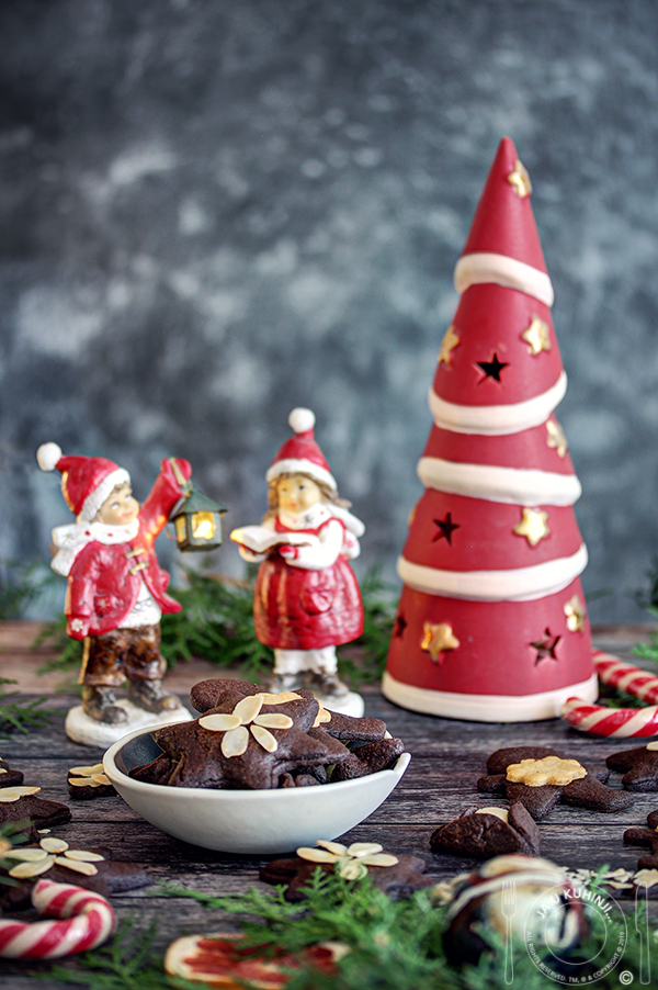 Čokoladni keksići sa marcipanom