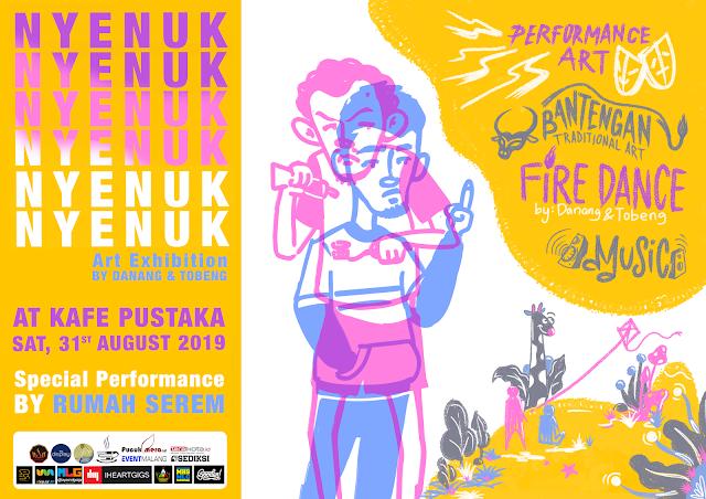 Event: 'Nyenuk' Bareng di Kafe Pustaka UM