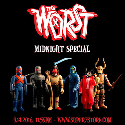 The Worst Full Color Retro Action Figure by Super7