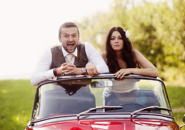 Classic Car Wedding Photography Shoot- Rustic 4 Weddings- Church House Woodworks