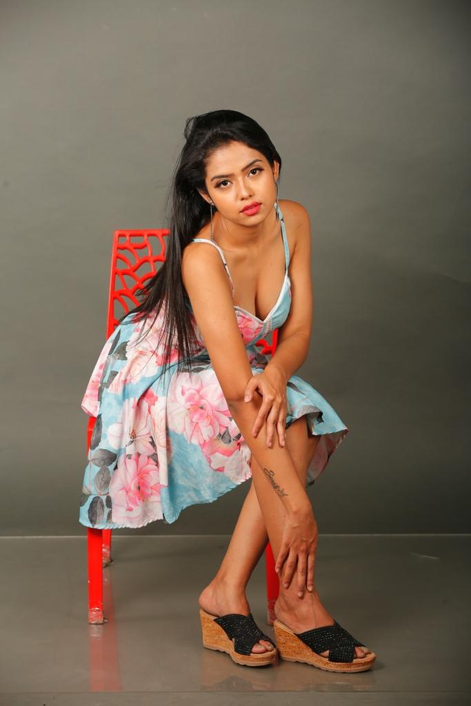 GST Movie Actress Swati Mandal Hot Stills
