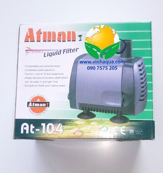 Phụ kiện thủy sinh - máy bơm Atman AT-104
