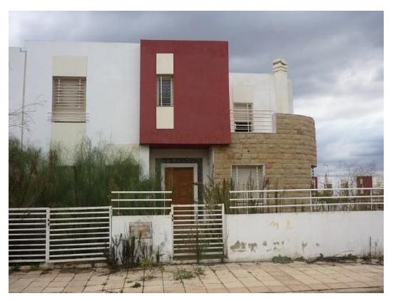 Villa semi finie 357 m2 Programe Rayahine (Al Omrane)Tamesna