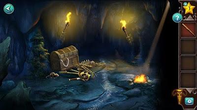разрушенный скелет и мышка рядом бегает