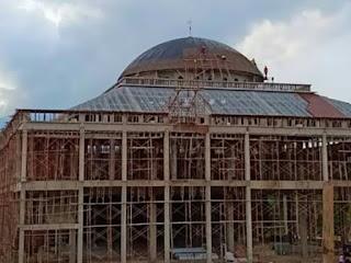 Bentuk Atap model Kubah Masjid