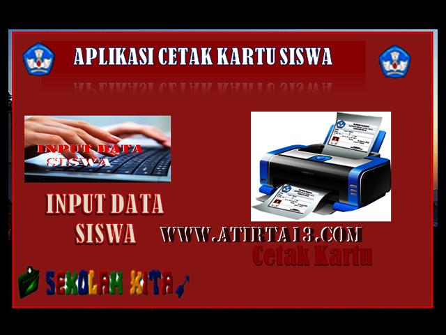 Master Aplikasi Otomatis Cetak Kartu Ujian Siswa Format Excel