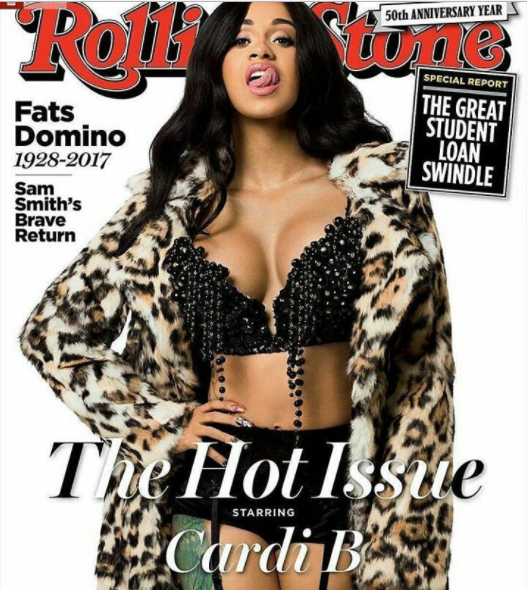 Cardi B Stuns On The Cover Of Rolling Stone