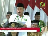 KH. Said Aqiel: Hasil Pemilu Harus Mampu Menegakkan Kedaulatan Rakyat
