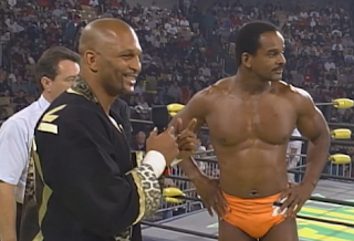 WCW Fall Brawl 1998 Review: Ernest Miller gives Norman Smiley five seconds to leave the ring