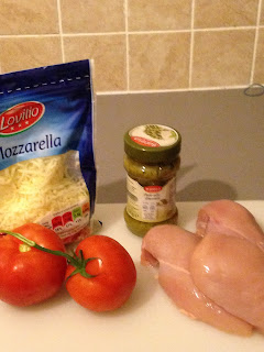 Pollo al Pesto verde, ingredientes