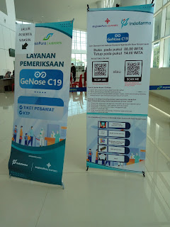 gnose di bandara syamsuddin noor