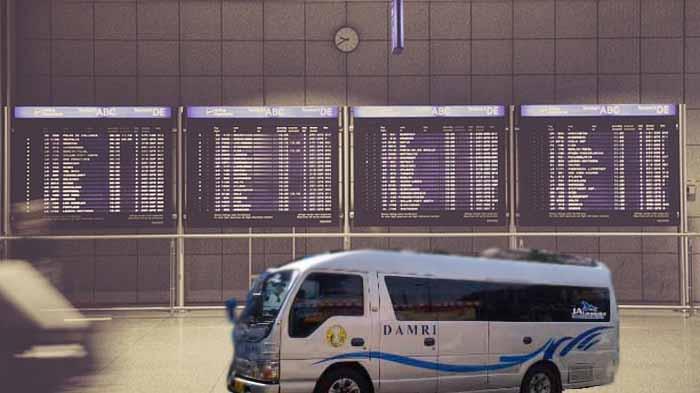 Damri Bandara Soekarno Hatta Ke Bogor Bus Damri