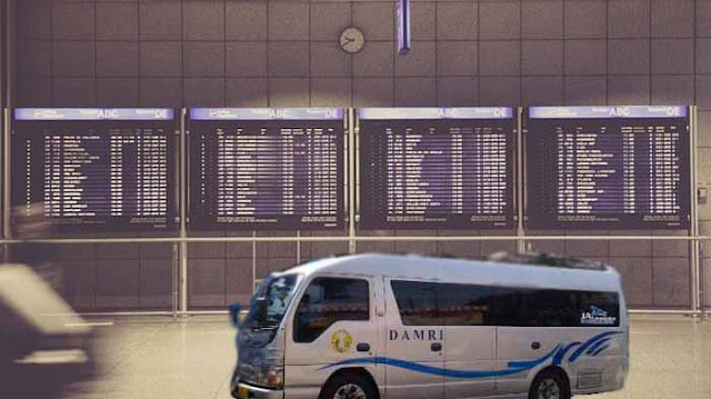Damri Bandara Soekarno Hatta ke Bogor