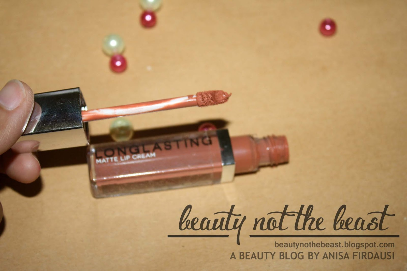 Review Lt Pro Longlasting Matte Lip Cream No 04 06 The A Word