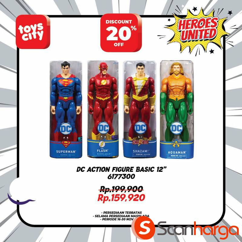 Promo Toys City Fantastic HEROES Collection Special Discount up to 50% 9