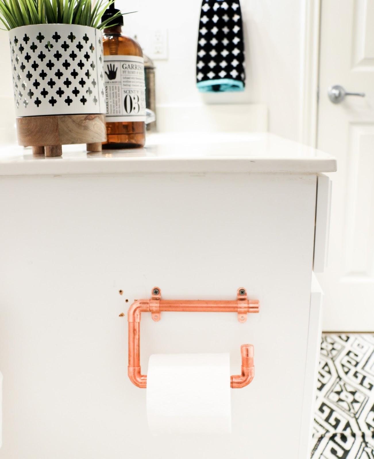 Diy It Copper Toilet Paper Holders A Kailo Chic Life