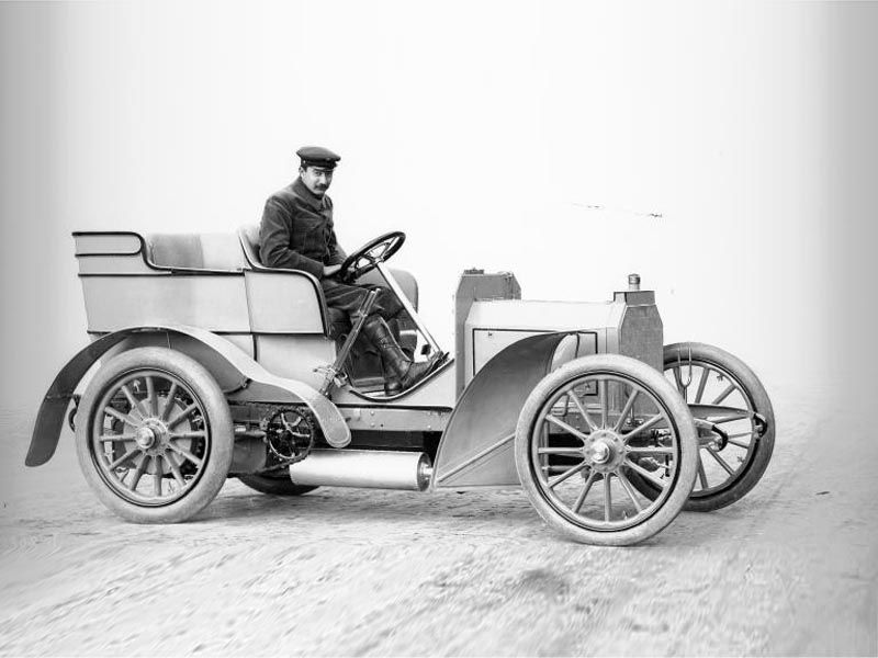 Mercedes 35 HP: The First Modern Car