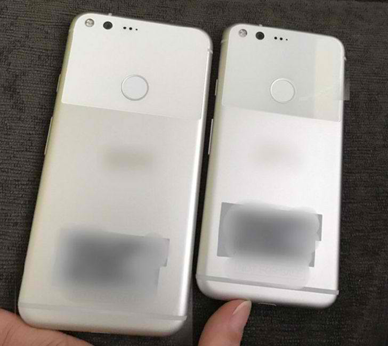 Alleged leaked image of Google Pixel