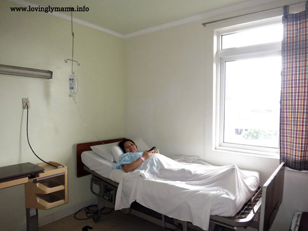 Riverside Hospital child friendly complex - private room - rooming in - childbirth - Bacolod hospital