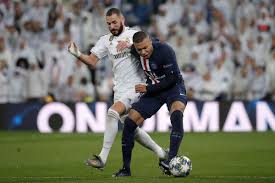 Real Madrid vs PSG Champion league highlight 2-2 draw.